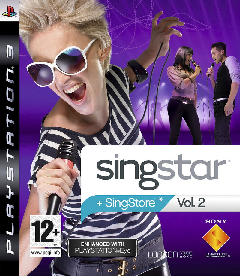 Caratula de SingStar: Vol. 2 para PlayStation 3