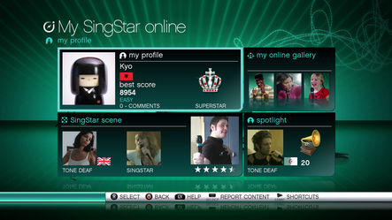Pantallazo de SingStar: Vol. 3 para PlayStation 3