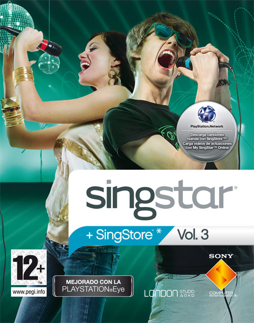 Caratula de SingStar: Vol. 3 para PlayStation 3
