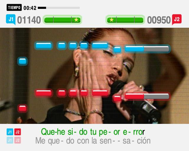 Pantallazo de SingStar Latino para PlayStation 2