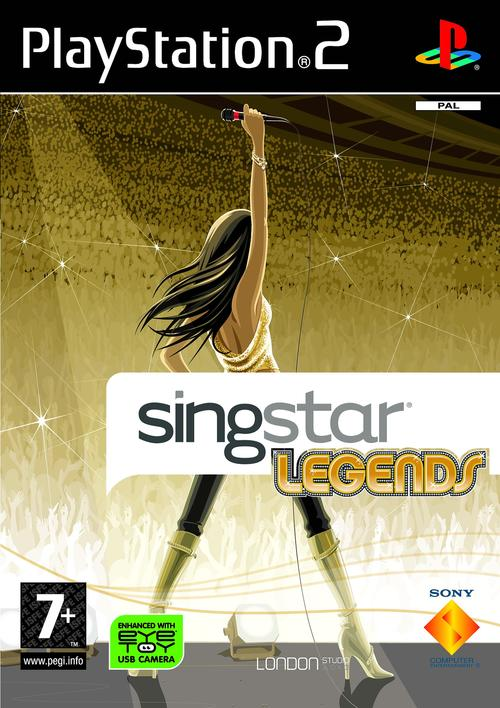 Caratula de SingStar Legends para PlayStation 2