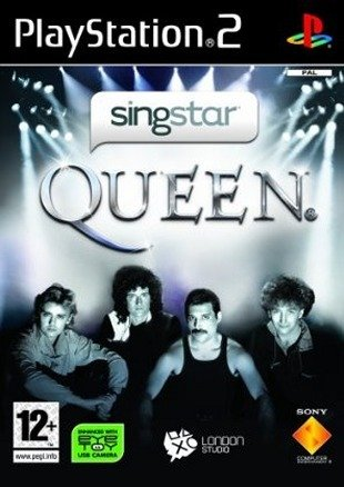 Caratula de Singstar Queen para PlayStation 2