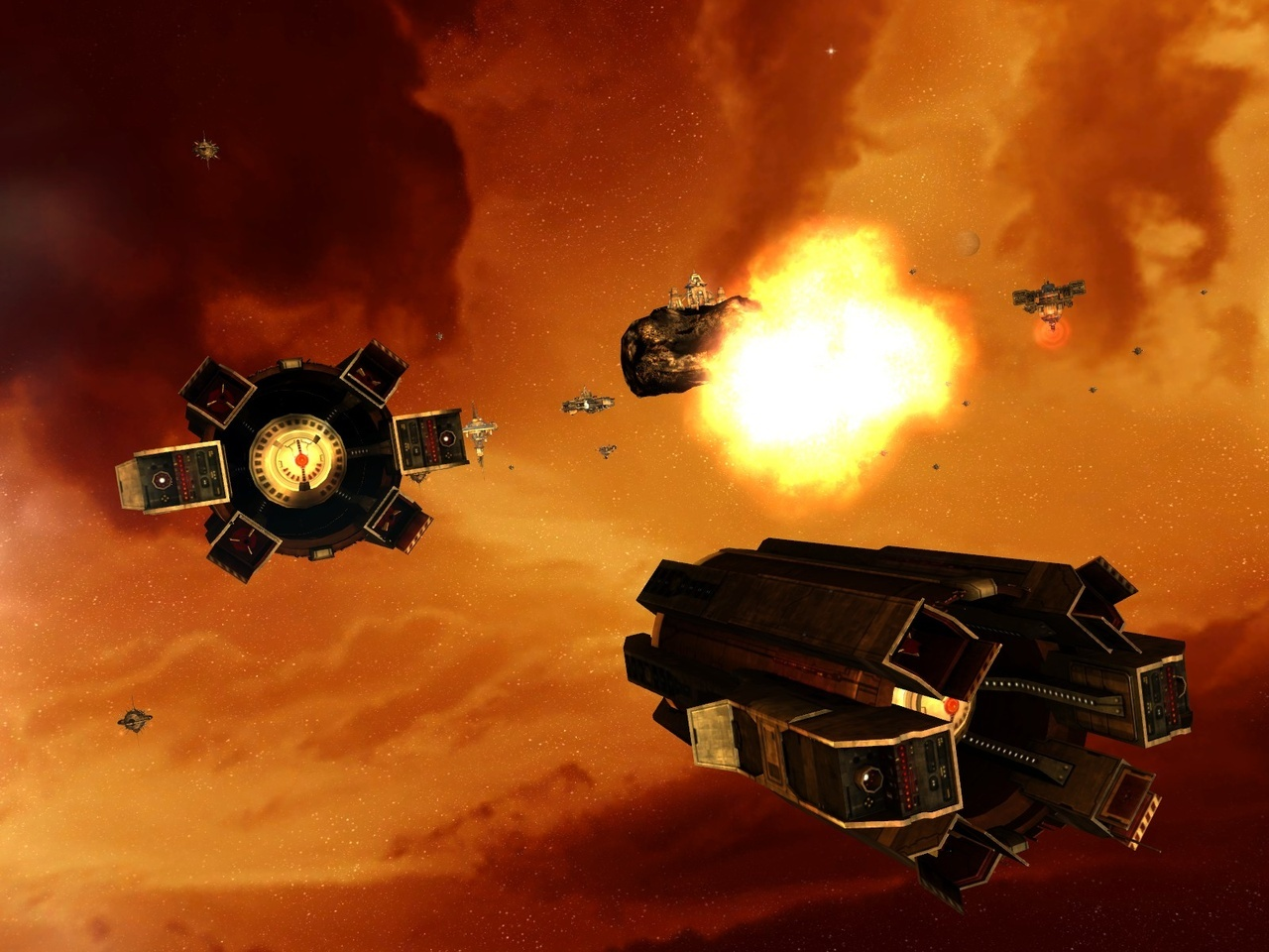 Pantallazo de Sins of a Solar Empire: Entrenchment para PC