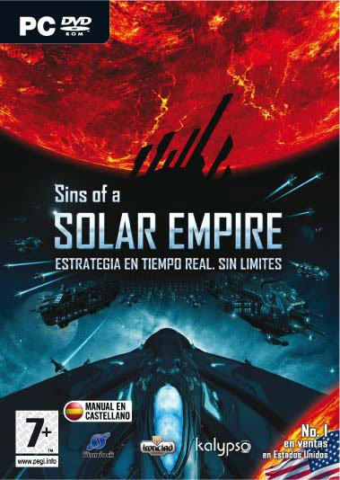Caratula de Sins of a Solar Empire para PC