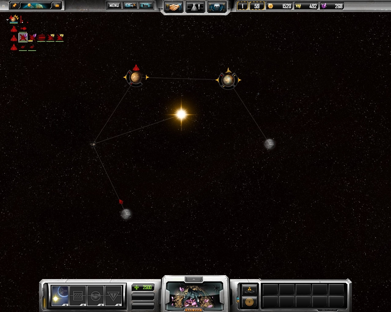 Pantallazo de Sins of a Solar Empire para PC