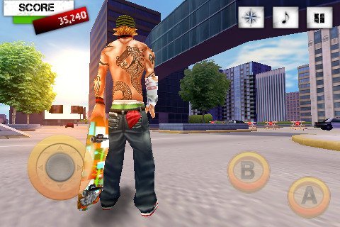 Pantallazo de Skater Nation para Iphone