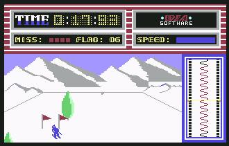 Pantallazo de Ski Run para Commodore 64