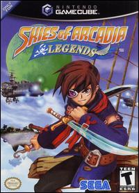 Caratula de Skies of Arcadia Legends para GameCube