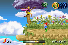 Pantallazo de Sky Dancers para Game Boy Advance