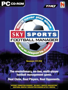 Caratula de Sky Sports Football Manager Season 01/02 para PC