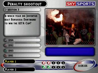 Pantallazo de Sky Sports Football Quiz Season 02 para PlayStation