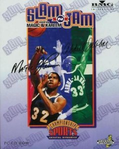 Caratula de Slam 'N Jam '96: featuring Magic & Kareem para PC