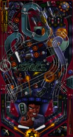 Pantallazo de Slam Tilt: The Pinball Game para PC