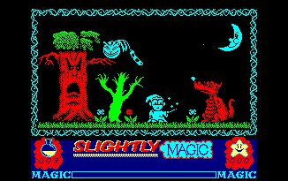 Pantallazo de Slightly Magic para Amstrad CPC