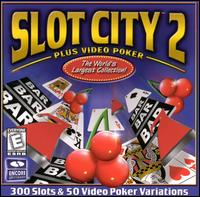 Caratula de Slot City 2 Plus Video Poker [Jewel Case] para PC