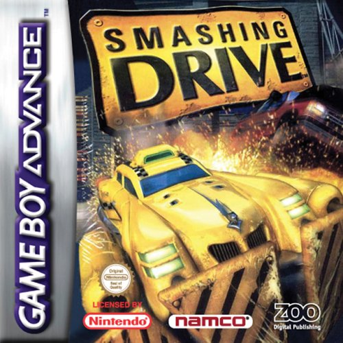 Caratula de Smashing Drive para Game Boy Advance