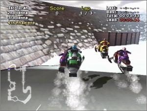 Pantallazo de SnoCross 2 Featuring Blair Morgan para Xbox