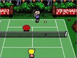 Pantallazo de Snoopy Tennis para Game Boy Color