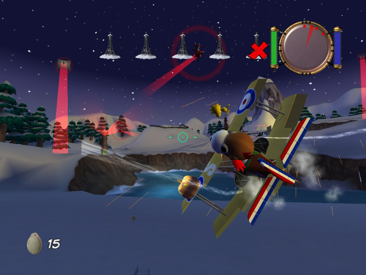 Pantallazo de Snoopy vs The Red Baron para PC