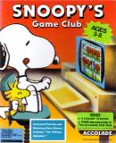 Carátula de Snoopy's Game Club