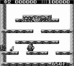 Pantallazo de Snow Bros Jr. para Game Boy