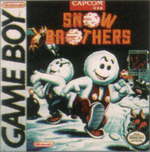 Caratula de Snow Brothers para Game Boy