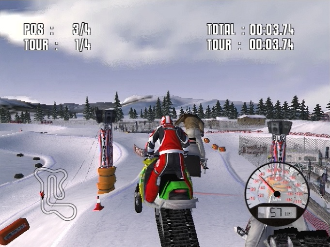 Pantallazo de Snow X Racing para PlayStation 2