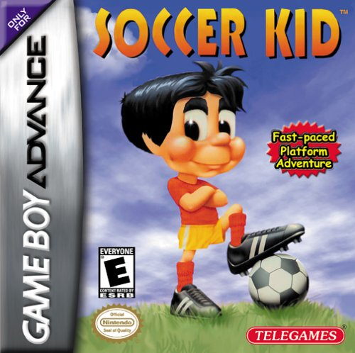 Caratula de Soccer Kid para Game Boy Advance