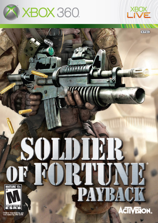 Caratula de Soldier of Fortune: Payback para Xbox 360