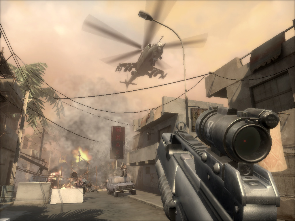 Pantallazo de Soldier of Fortune: Venganza para PlayStation 3