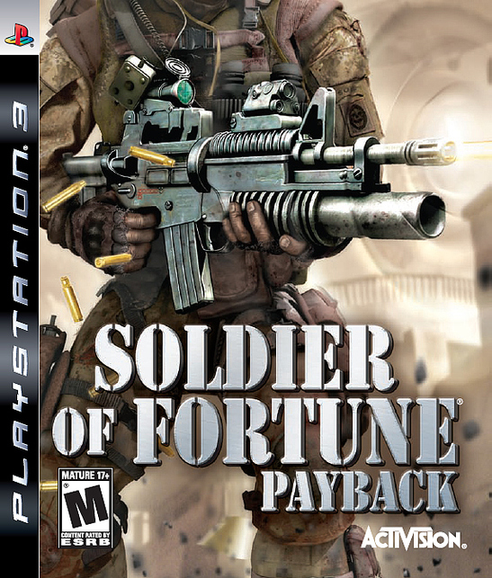 Caratula de Soldier of Fortune: Venganza para PlayStation 3