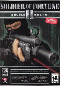 Caratula de Soldier of Fortune II: Double Helix para PC