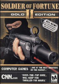 Caratula de Soldier of Fortune II: Gold Edition para PC