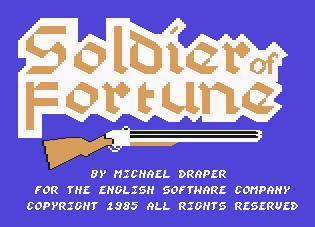 Pantallazo de Soldier of Fortune para Commodore 64