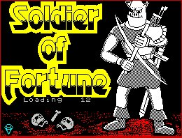 Pantallazo de Soldier of Fortune para Spectrum