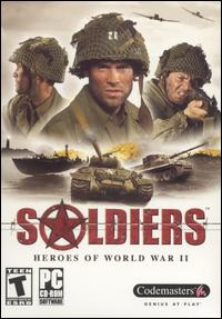 Caratula de Soldiers: Heroes of World War II para PC