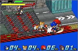 Pantallazo de Sonic Battle para Game Boy Advance