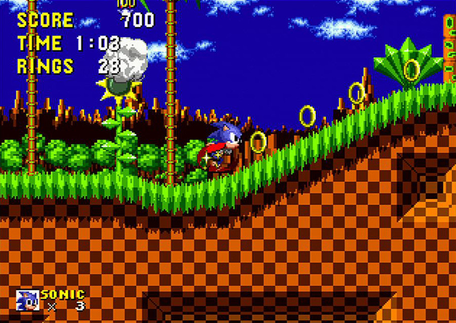 Pantallazo de Sonic the Hedgehog (Consola Virtual) para Wii