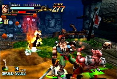 Pantallazo de Soul Fighter para Dreamcast