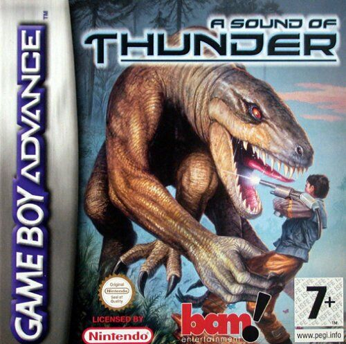Caratula de Sound of Thunder, A para Game Boy Advance