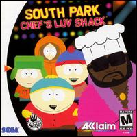 Caratula de South Park: Chef's Luv Shack para Dreamcast