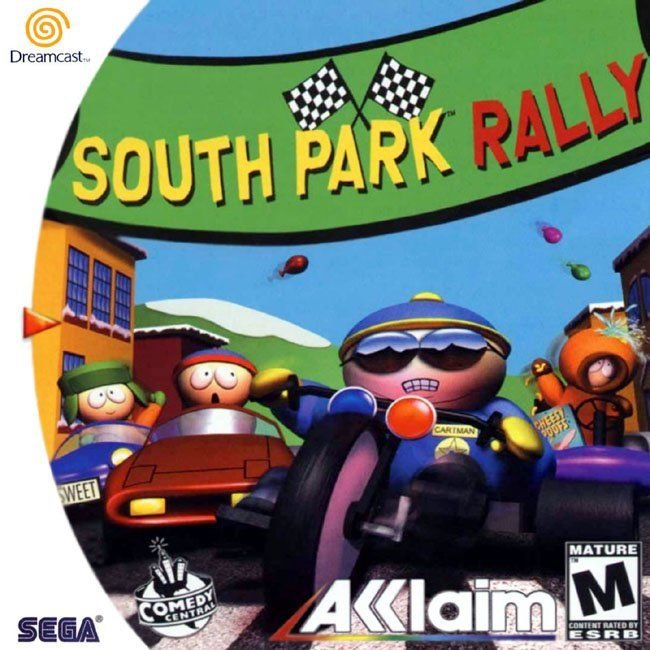 Caratula de South Park Rally para Dreamcast