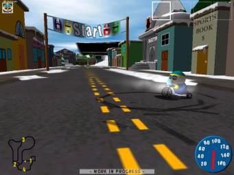 Pantallazo de South Park Rally para PC