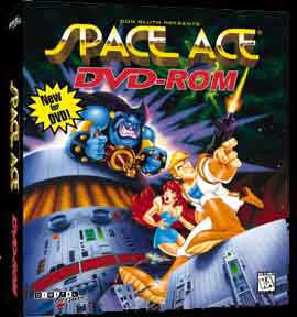 Caratula de Space Ace para PC