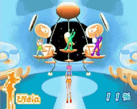 Pantallazo de Space Channel 5: Ulala's Cosmic Attack para Game Boy Advance