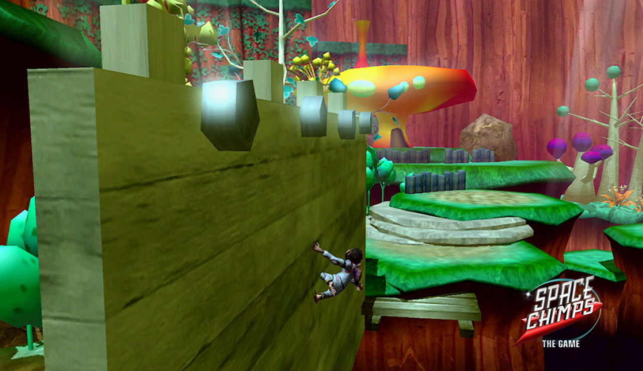 Pantallazo de Space Chimps para Wii