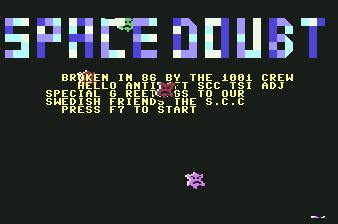 Pantallazo de Space Doubt para Commodore 64