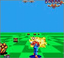 Pantallazo de Space Harrier para Gamegear