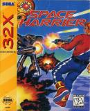 Carátula de Space Harrier