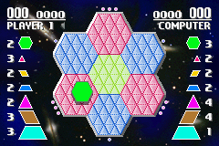 Pantallazo de Space Hexcite X (Japonés) para Game Boy Advance
